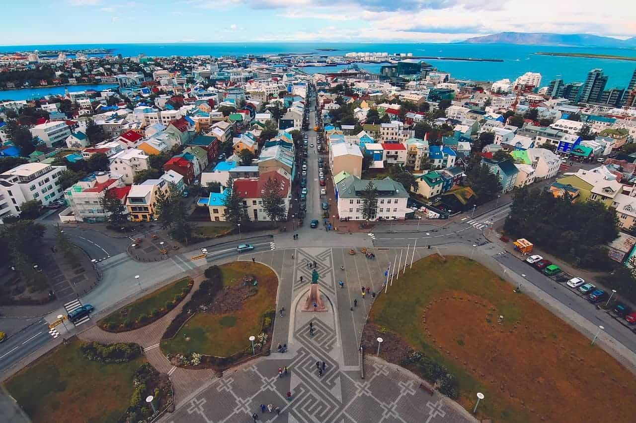 Reykjavík closed for car traffic until 1st of October