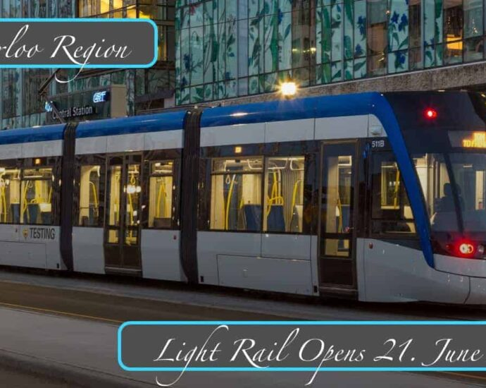 Finally a Light Rail system that connects Cities in Canada