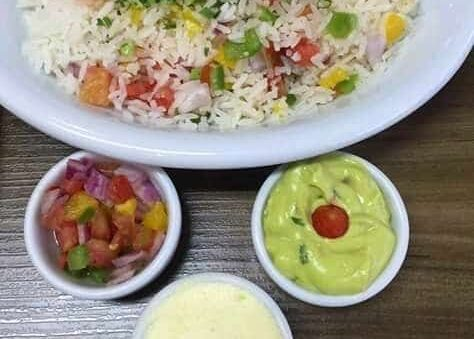 Gardener Rice is a Rich pepper Meal
