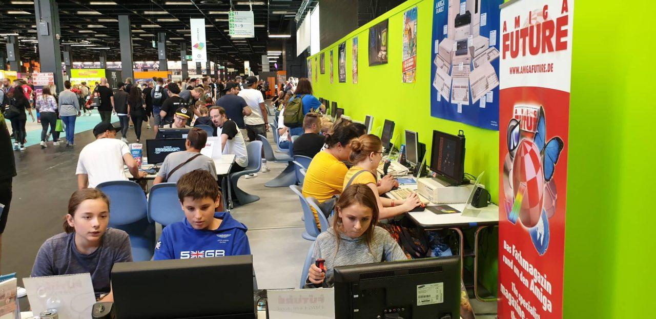 Awesome Amiga Interest at Gamescom 2019
