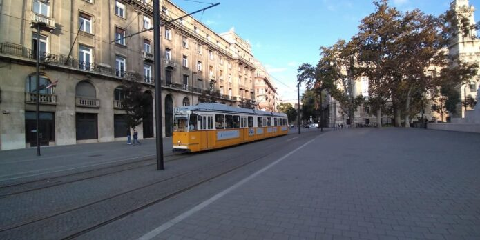 Tram Line 2 in Budapest is more than it Looks