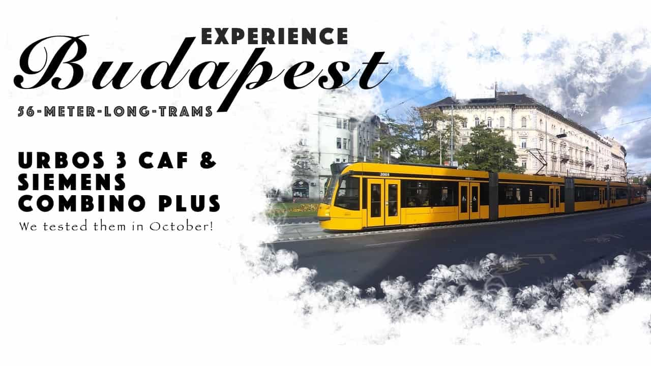 Experience World's Longest Tram that is 56-meter-long in Budapest