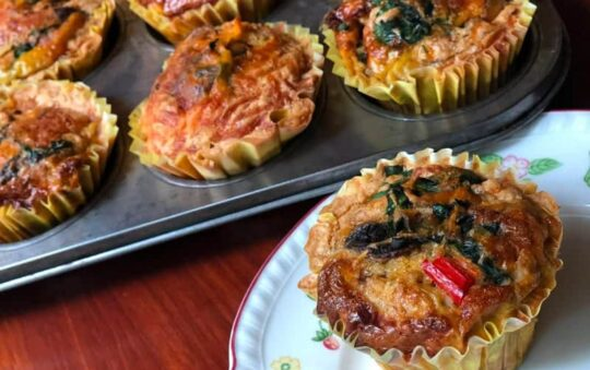 Wake up with Breakfast Muffins Recipe