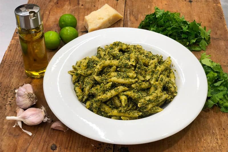 Cold Pasta with Perejil Recipe