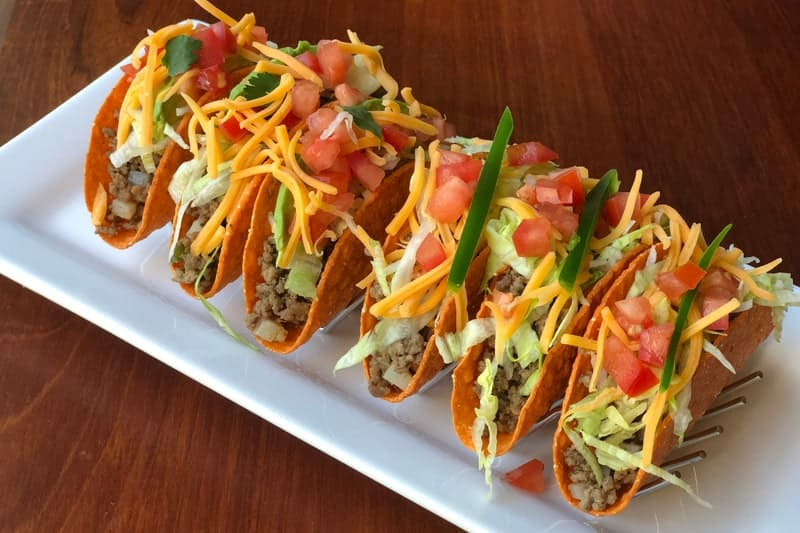 Prepare your own tasty tacos menu at home – yummy taco toasts in all colors