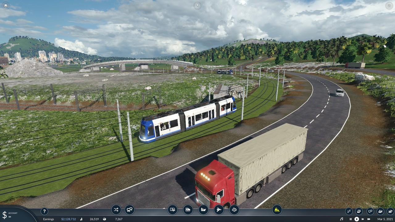 Trampack Mod for Transport Fever 2