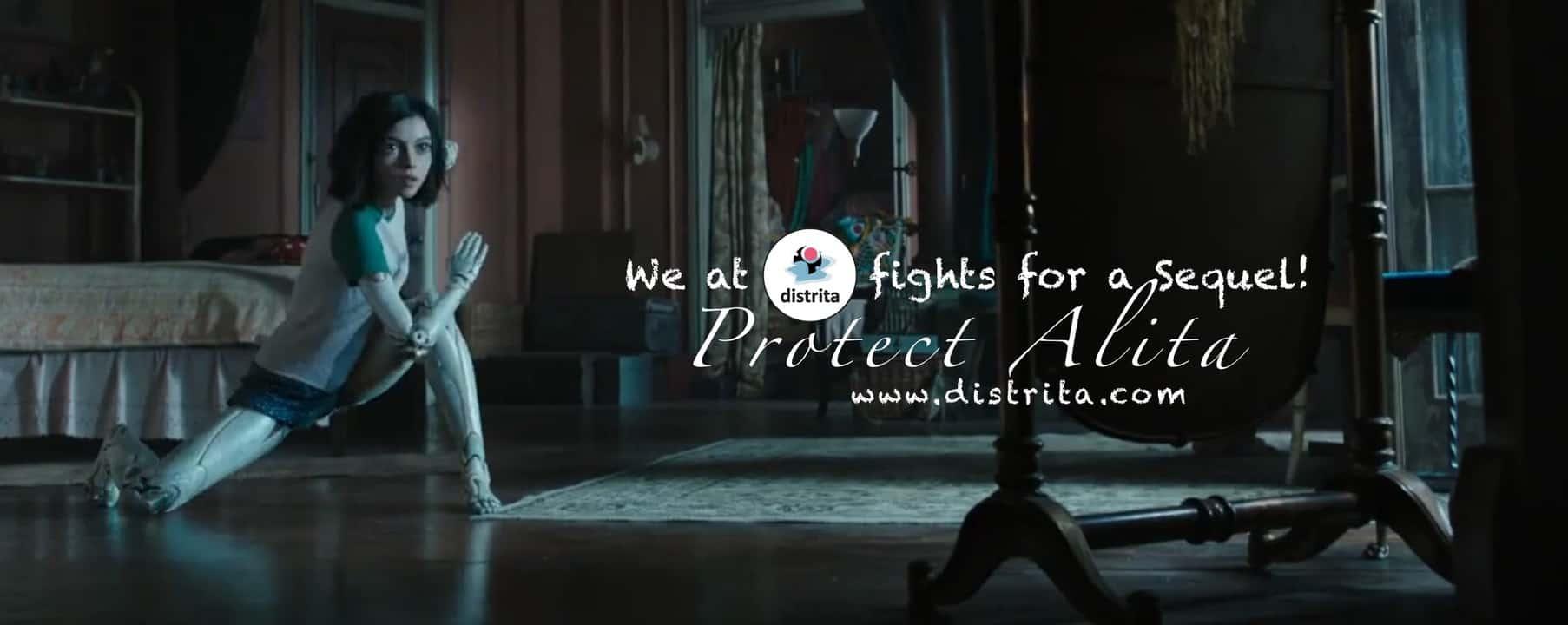We at Distrita fight for a Sequel - Protect Alita