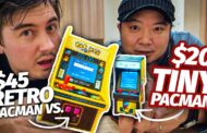 Two Micro Pacman Games Tested by Chris and Natsuki