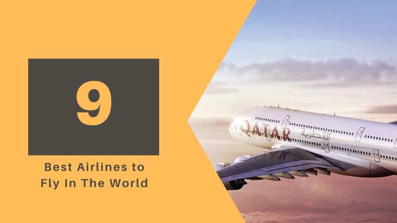 Top 10 Best Airlines to Fly In The World 2021 1
