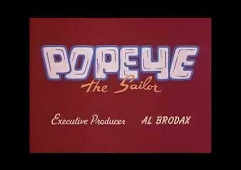 55 Original Popeye Episodes on Tubi streaming service