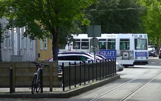 Check out Norway's only Narrow Gauge Tram