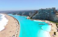 Check out the largest saltwater swimming pool in the World