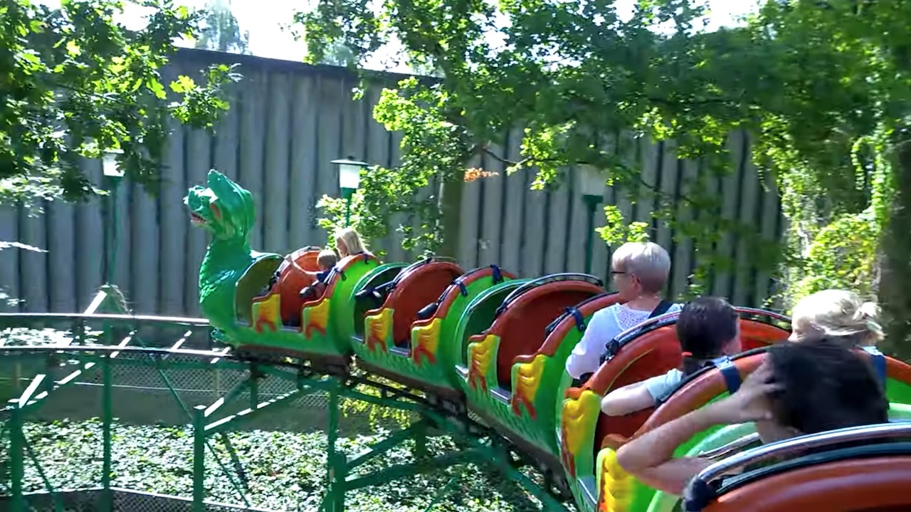Best Roller Coasters at Tivoli Friheden in Aarhus 2