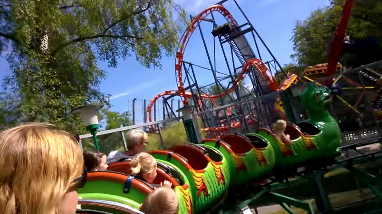 Best Roller Coasters at Tivoli Friheden in Aarhus 1