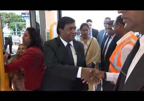 Mauritius first ever Light Rail Line is Now in service!