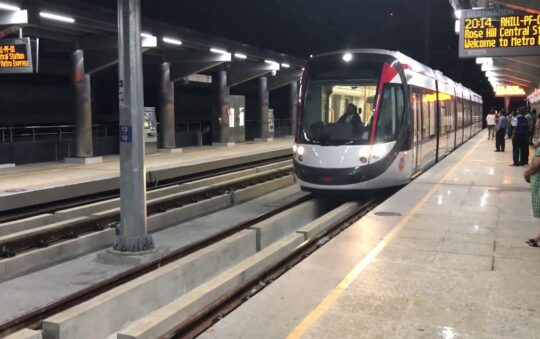 Always use a Light Rail system if you can!