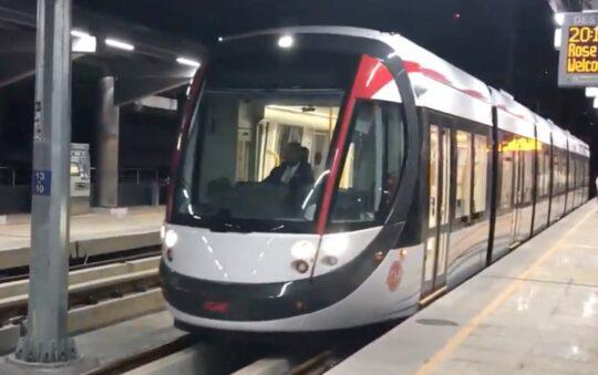 Mauritius Light Rail Tram uses CAF