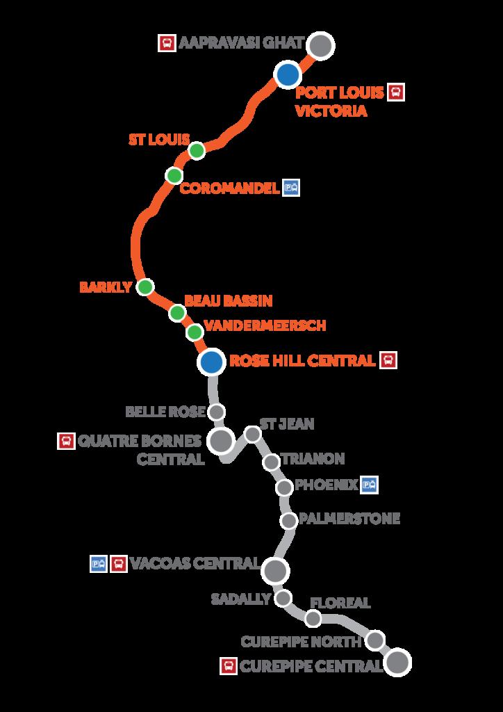 Mauritius Light Rail CAF Line Opened