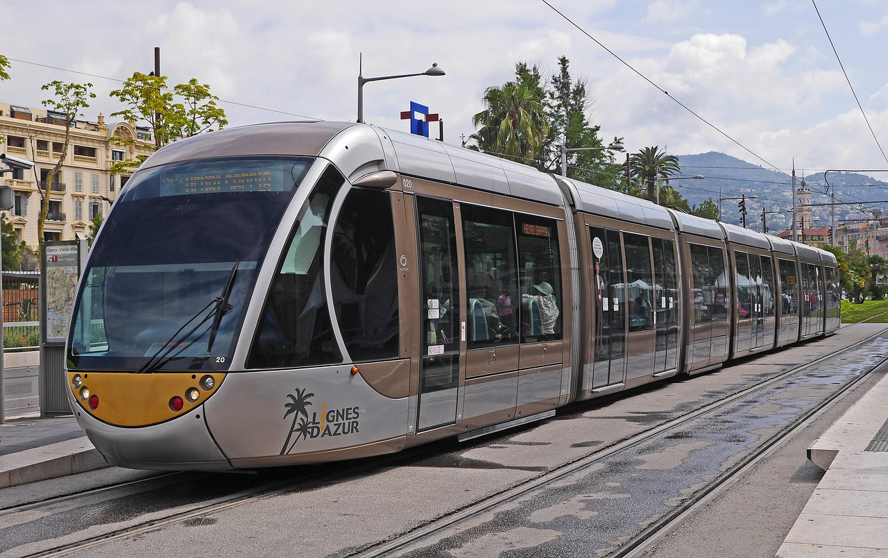 Nice Airport Tram opening Connects you to the town since 2018!