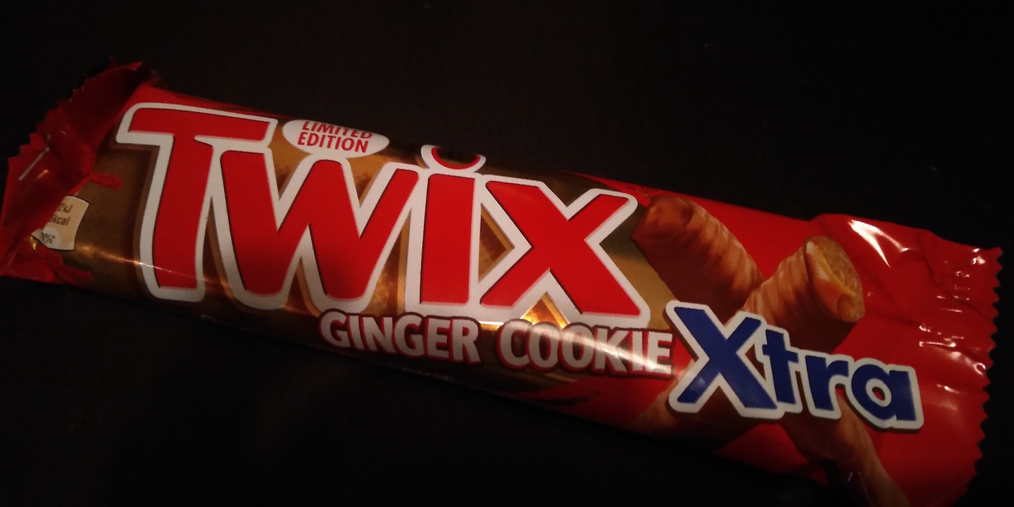 Let's Reveal the Limited Edition Twix Ginger Cookie Chocolate Bar 1