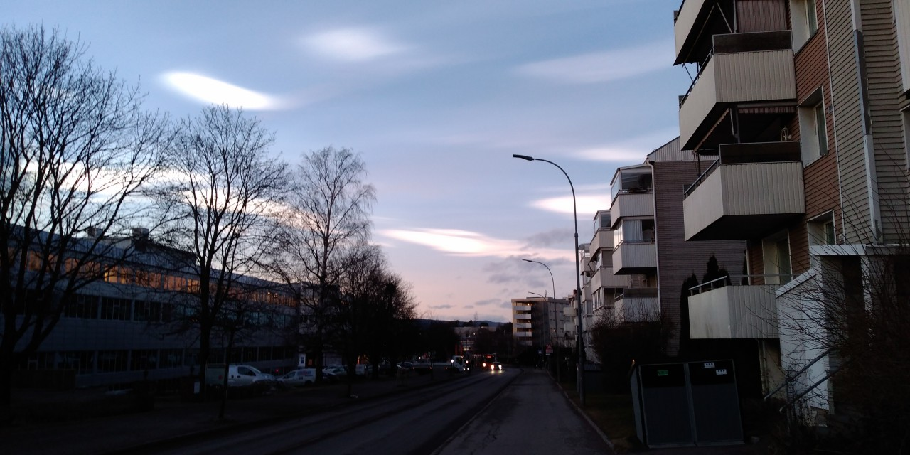 Rare Polar stratospheric Clouds spotted in Oslo 8