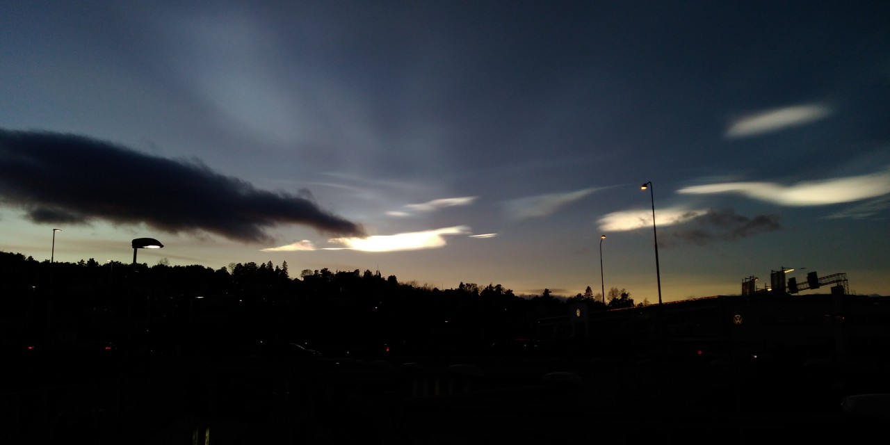 Rare Polar stratospheric Clouds spotted in Oslo 3