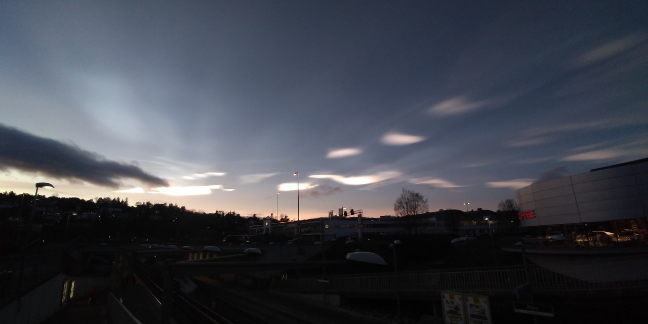 Rare Polar stratospheric Clouds spotted in Oslo 5