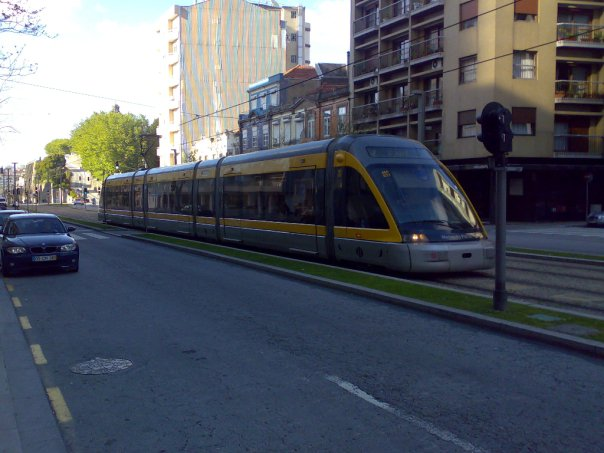Check out the New and Old Trams in Porto 2