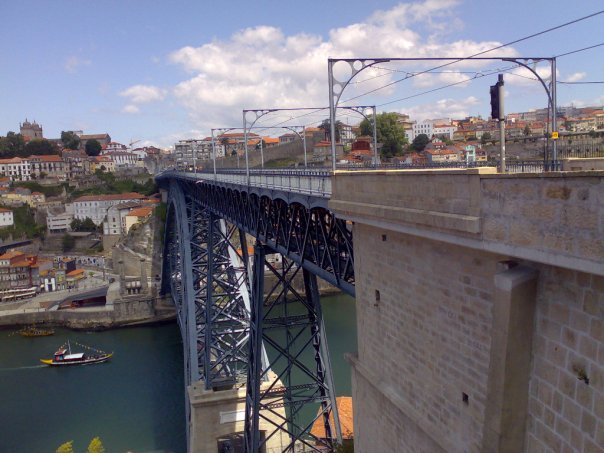 Check out the New and Old Trams in Porto