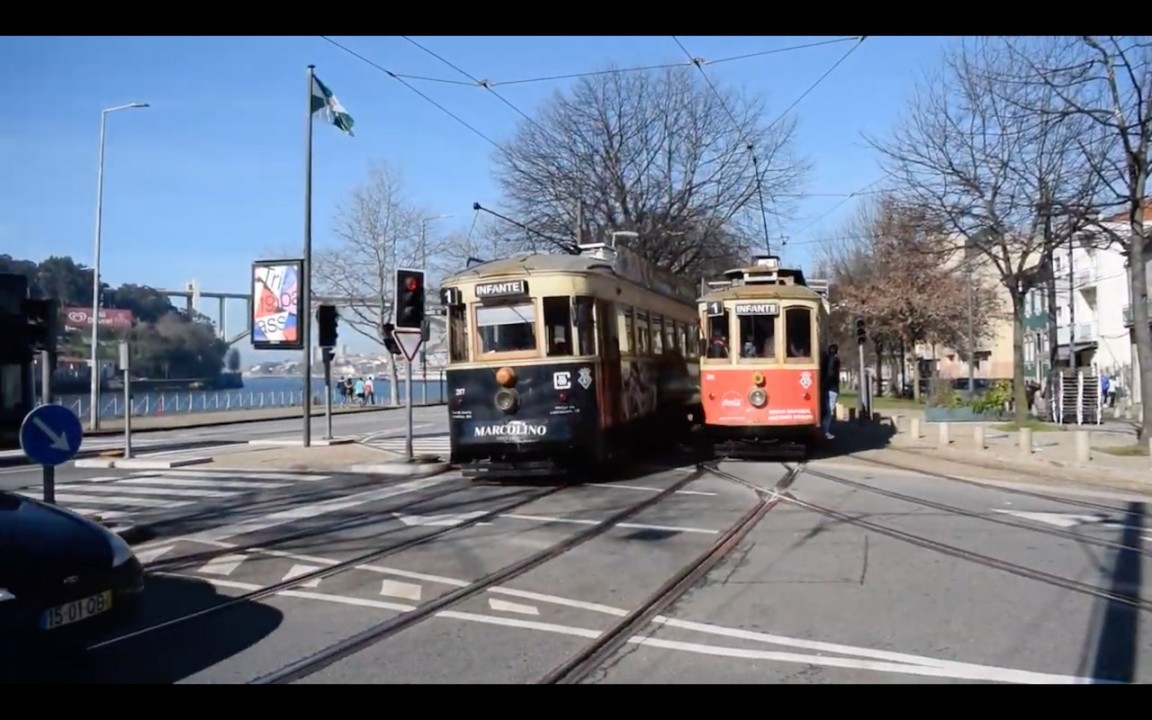 Check out the New and Old Trams in Porto 11