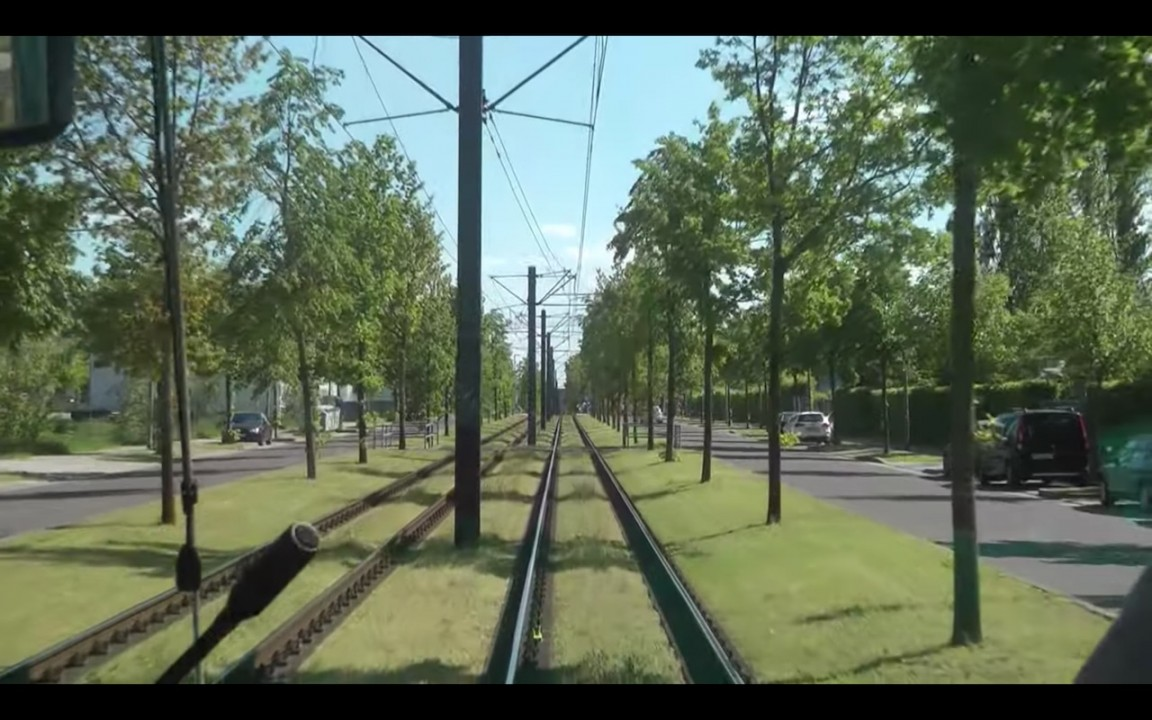 New plan for Potsdam Tram in Europe 1