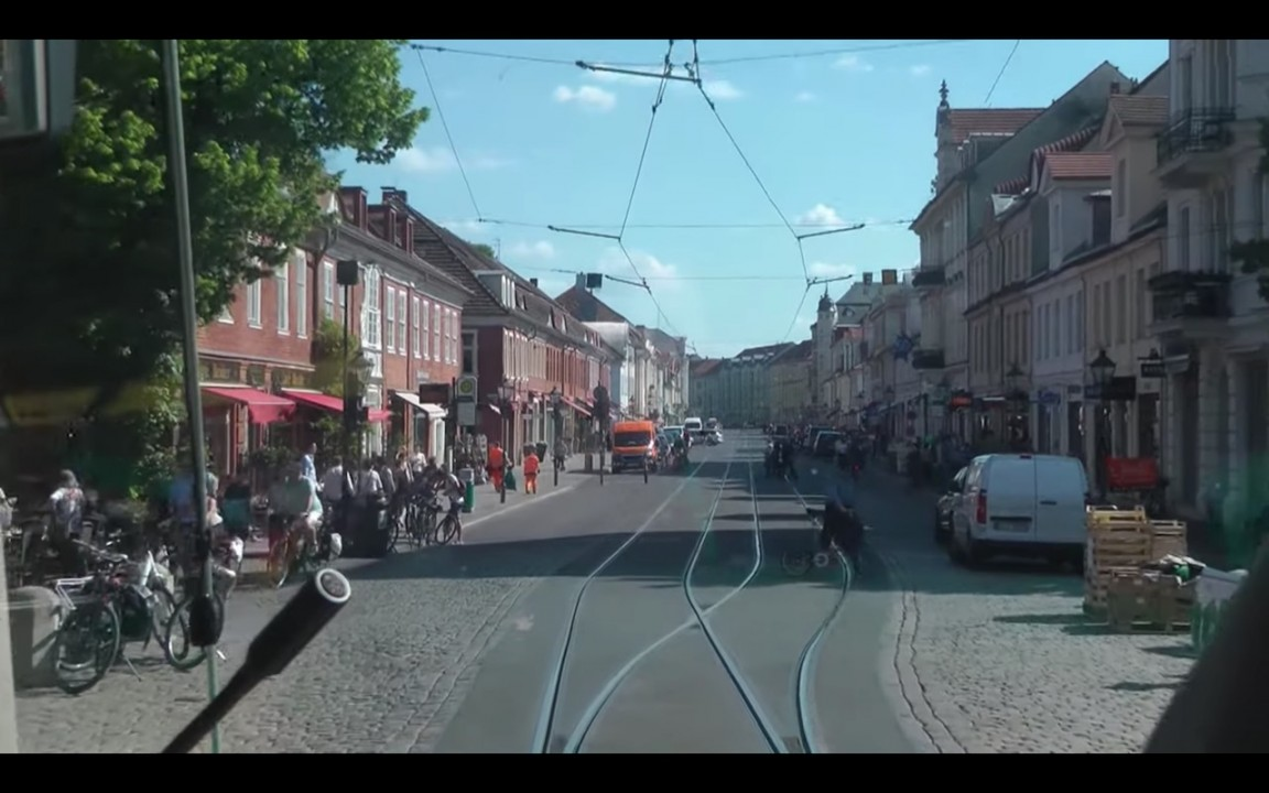 New plan for Potsdam Tram in Europe 3