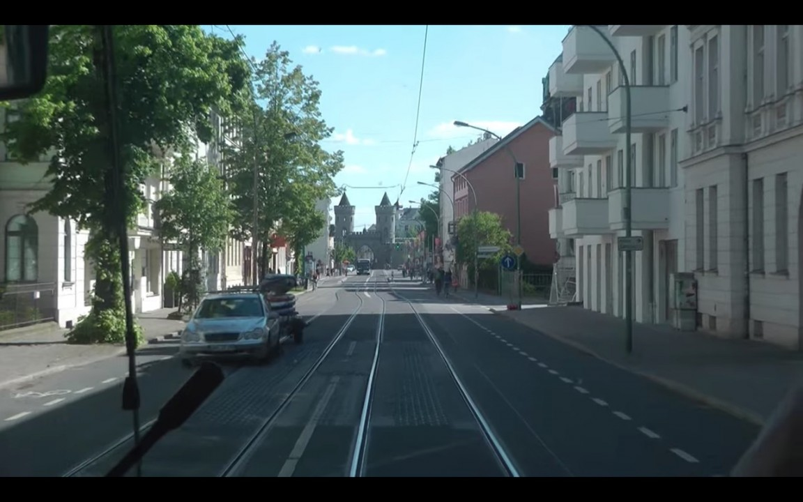 New plan for Potsdam Tram in Europe 2