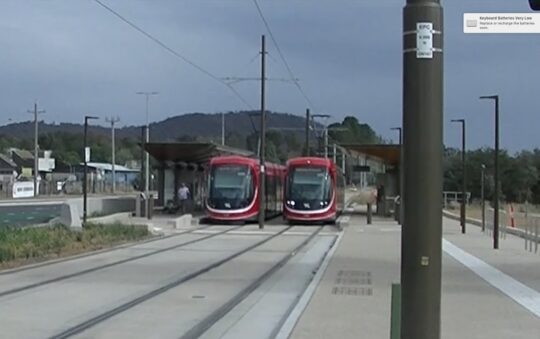Canberra light rail Expands in April