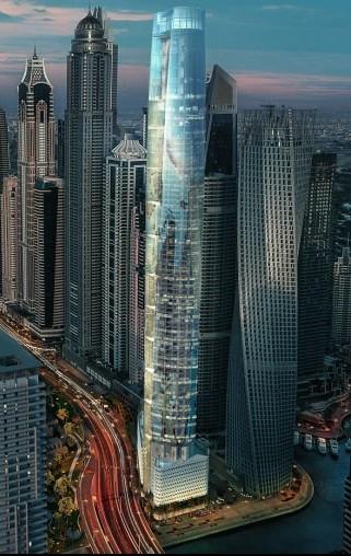 Ciel Tower in Dubai will become World's tallest Skyscraper Hotel 2