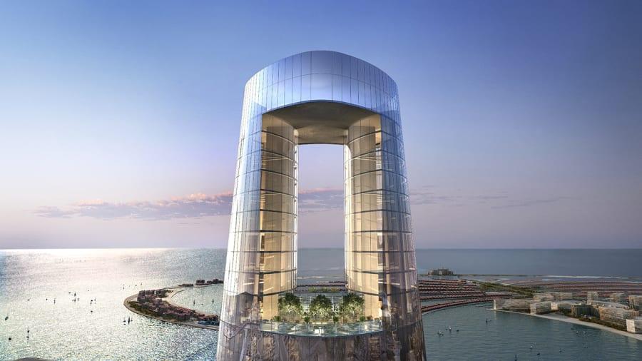 Ciel Tower in Dubai will become World's tallest Skyscraper Hotel