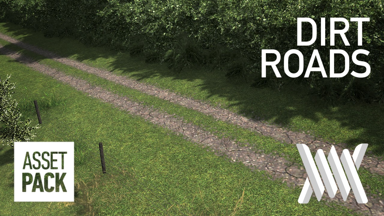 Dirt Roads that Makes Cities Skylines farms look even better 1