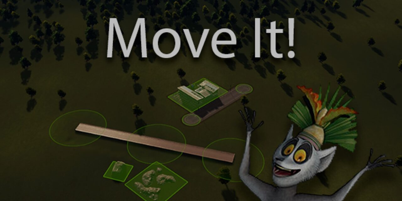 Move It is the mod you need for Cities Skylines 1