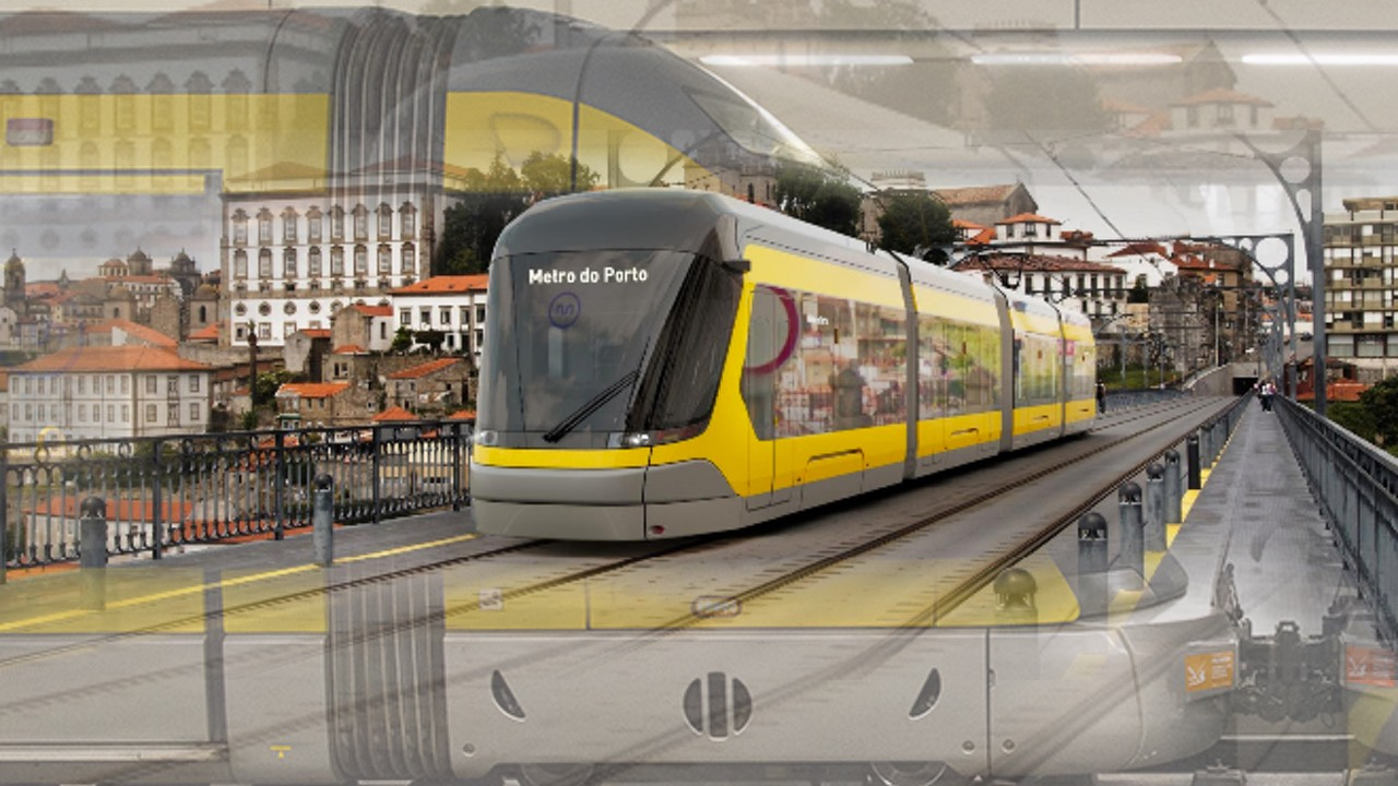 New Porto Light Rail trains and Extension for 2023 Revealed
