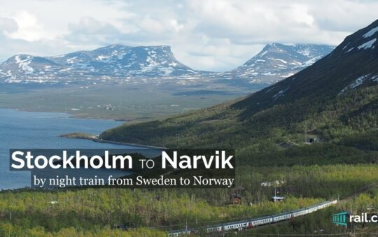 Norwegian VY won the superior Narvik Stockholm Railway Route