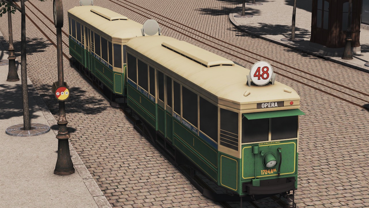 Heritage Cities Skylines Cobblestone Tram Layout Beautification