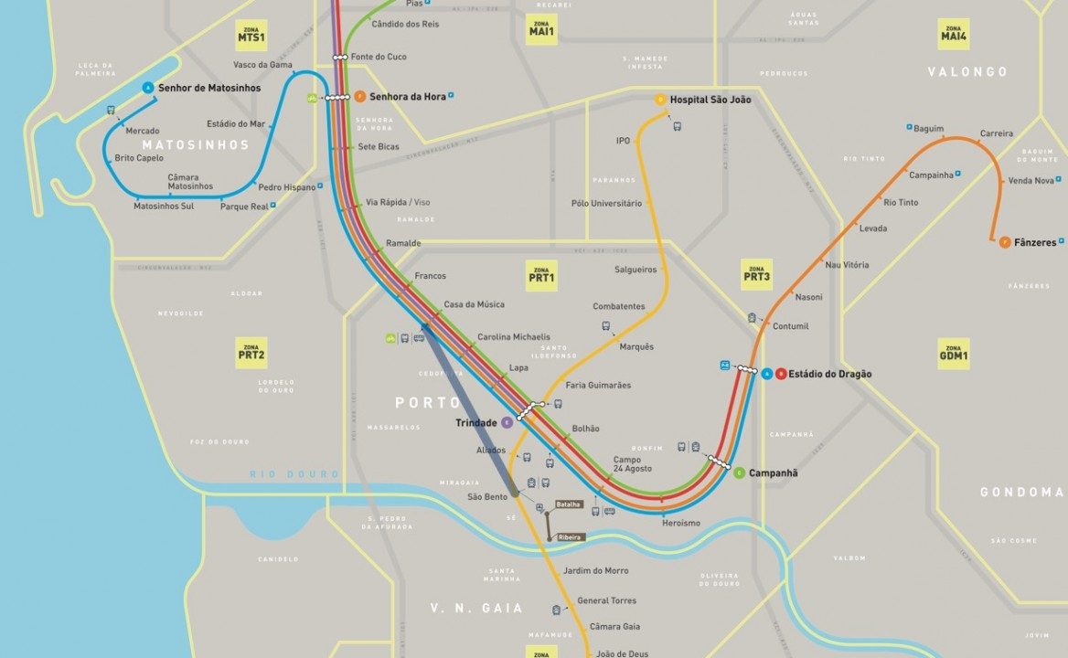 New Porto Light Rail trains and Extension for 2023 Revealed 2