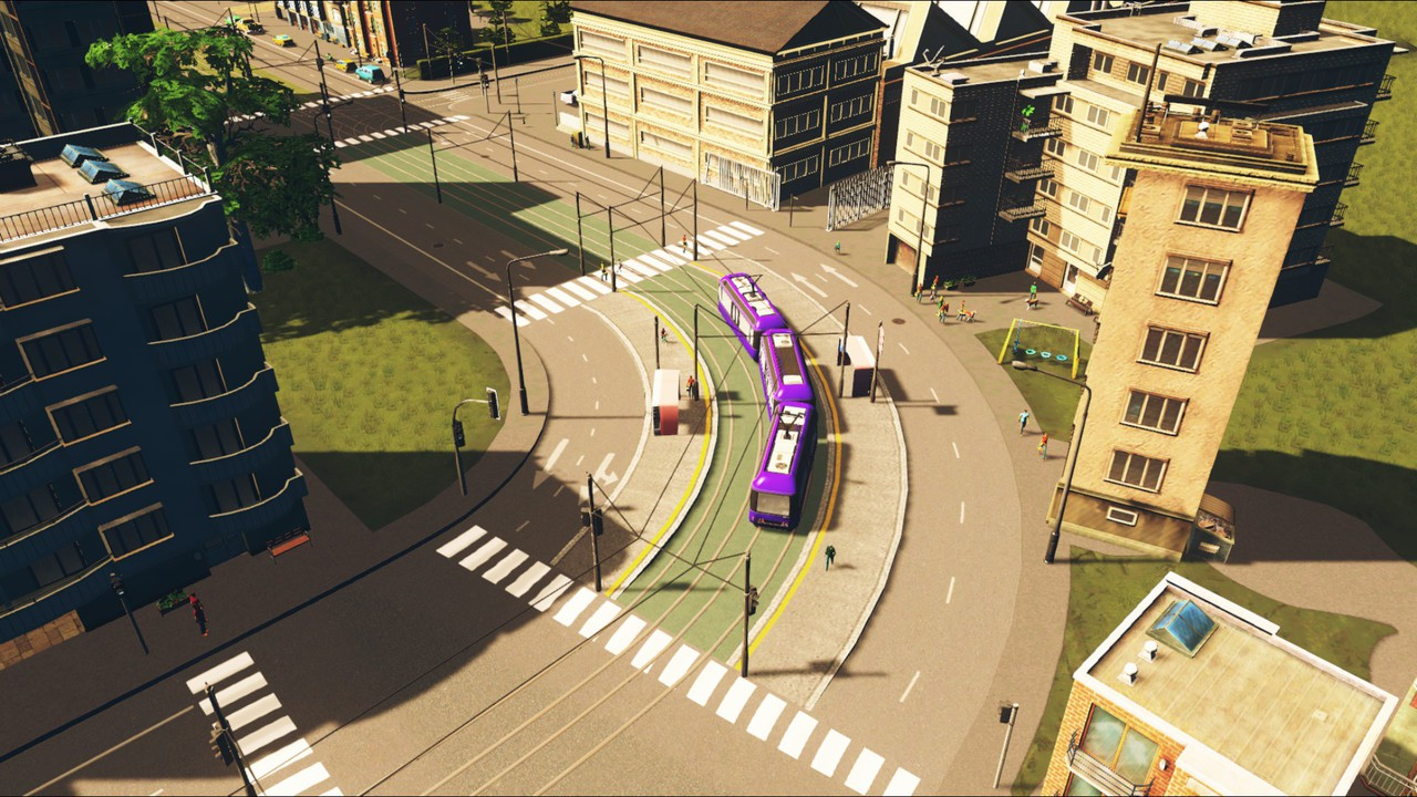 Great Tram Avenues for Cities Skylines