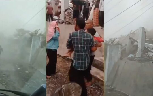 Earthquake hit Jakarta, Bogor and Bandung in Indonesia