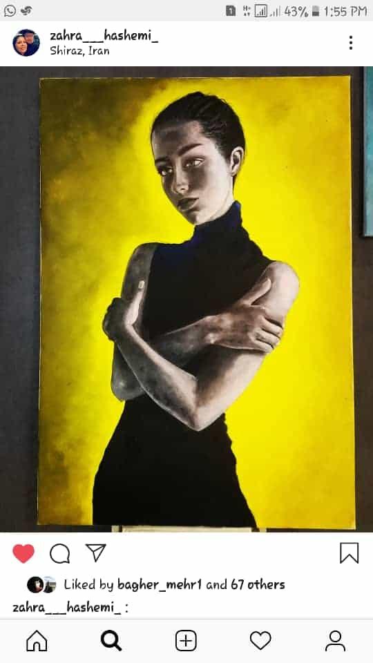 Get inspired by Zahra Hashemi's amazing artwork 42