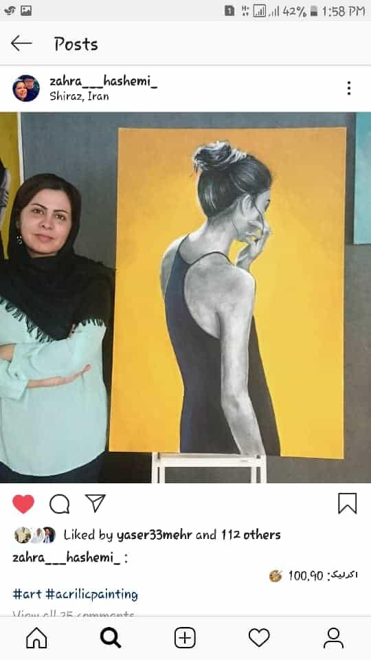 Get inspired by Zahra Hashemi's amazing artwork 38