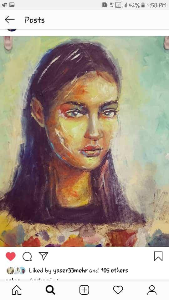 Get inspired by Zahra Hashemi's amazing artwork 37