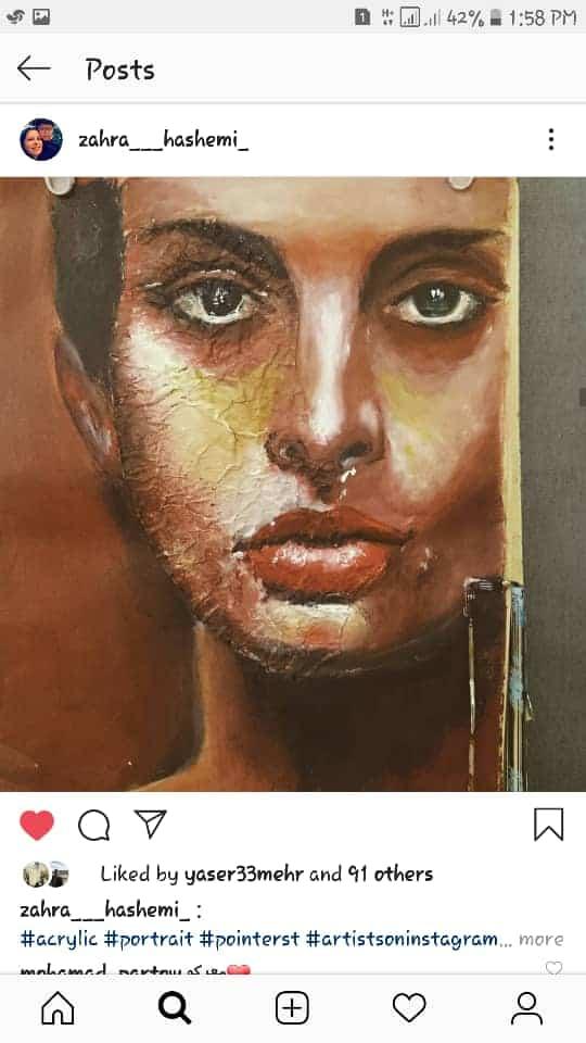 Get inspired by Zahra Hashemi's amazing artwork 36