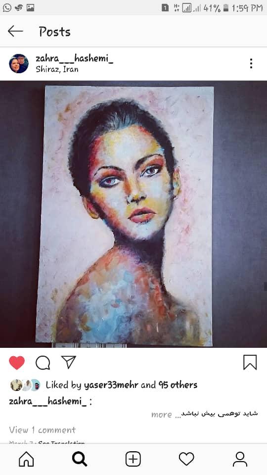 Get inspired by Zahra Hashemi's amazing artwork 35