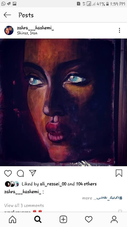 Get inspired by Zahra Hashemi's amazing artwork 33
